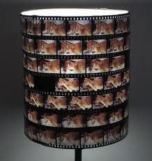 Film Negative Lamp Shade! I will make one of these some day