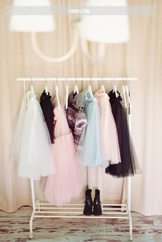 Our home – Bedroom » Dear to Clau Home decor Tulle skirts on the valet stand.