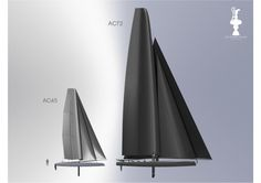 America's Cup Racing Yachts These multi-hull boats are pure beauty deriving from function!  The 72's will be the boats competing for the Cup in 2013.