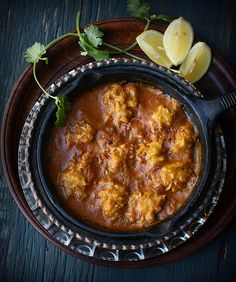 Squash Dumplings in Spicy Curry (Indian)