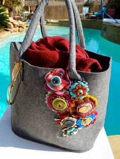 I love everything with wool and flowers! Shop etsy!