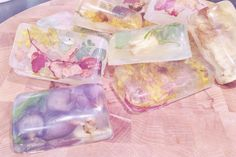 free people blog: DIY flower soaps: I made these from the free people DIY