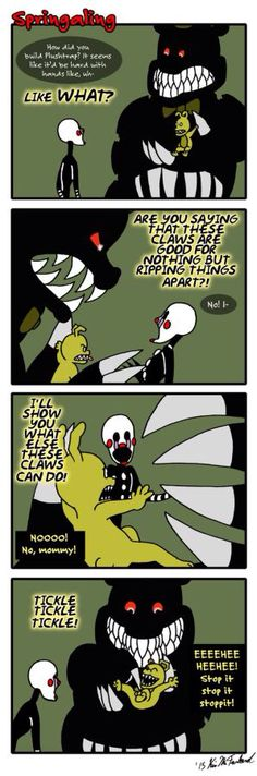 Springaling 108: No Claws for Alarm by Negaduck9 on @DeviantArt