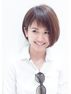 グランマッシュ(Granmash) 今旬シースルーバング!ショートボブ Pretty Short Hair, Girl Short Hair, Short Hair Cuts, Beauty Tips For Hair, Hair Beauty, Short Bob Hairstyles, Cool Hairstyles, Medium Hair Styles, Short Hair Styles
