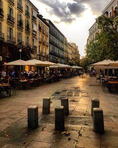 Plaza del Ángel #Madrid (barrio de las Letras)