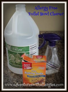 allergy free toilet bowl cleaner