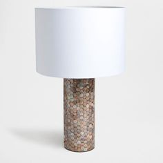 Mother-of-Pearl Lamp - Lamps - Bedroom | Zara Home Finland
