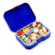Yumbox Leakproof Bento Lunch Box Container (New Design Myrtille Blue) for Kids Lunch Box Containers, Cool Lunch Boxes, Healthy School Lunches, Bento Box Lunch, Bento Lunchbox, Dinner Sets, Food Storage, Kitchen Storage, Safe Food