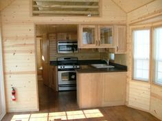POrtable Cabin Interiors | Richu0027s Portable Cabins Masters Kitchen |  Interior Shack Design
