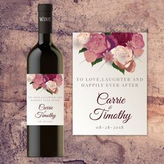Wedding Gifts For Bride And Groom Personalized Wedding Wine Bottle Label, Custom Wine Bottle Labels for Wedding Tables, Bride and Groo - Wedding Wine Labels, Wedding Wine Bottles, Wedding Favors, Wedding Decor, Wedding Gifts, Bridal Gifts, Wedding Centerpieces, Custom Wine Bottles, Wine Bottle Labels