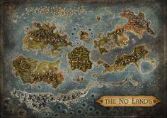 no lands map #fantasy