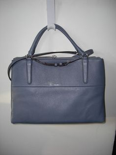 NWT Coach 28160 Borough Bag in Washed Chambray #Coach #Satchel