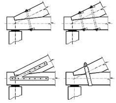 capriate in legno dwg particolari costruttivi pinterest