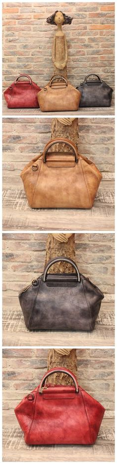 Women's Fashion Leather Designer Handbag Messenger Bag Shoulder Bag Cross Body Bag WF52 Overview: Design: Women Fashion Handbag In Stock: 3-5 days For Making Leather: Vegetable Tanned Leather Measures #designerhandbags #fashionhandbags