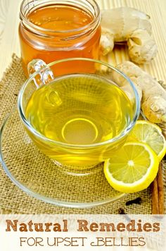 Check out these Natural Remedies for Upset Bellies before running to the pharmacy.