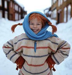Pippi Långstrump, my hero Pippi Longstocking, Sweet Memories, Redheads, Childhood Memories, Sweden, Childrens Books, Beautiful People, Daughter, My Love