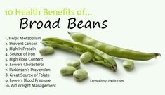 Broad beans amazing health benefits #nutritionfactsquotes