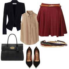 Classy and Simple Fashion