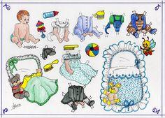Picasa Web Albums, Vintage Paper Dolls, Free Paper, Paper Paper, Retro Toys, Art Pages, Baby Dolls, Doll Clothes, Doodles