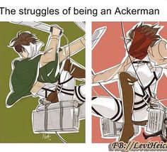 Levi and Mikasa Ackerman Anime Meme, Manga Anime, Gato Anime, Attack On Titan Meme, Attack On Titan Fanart, Aot Funny, Aot Memes, Rivamika, Gekkan Shoujo