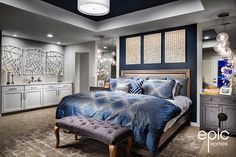 Epic Homes builds new homes in Arvada and Broomfield Colorado. We are committed to building your home with the passion you have for living there. Broomfield Colorado, Arvada Colorado, Colorado Homes, Building A House, Comforters, Master Bedroom, New Homes, Models, Spaces