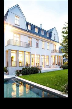 The balconies!!! I like this home as well!!