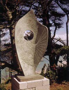 Barbara Hepworth Curved Form (Bryher II), Bronze, 1961