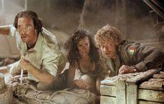 Sahara (2005) One of my husband & my fave films, starring Matthew McConaughey, Steve Zahn, and Penelope Cruz.