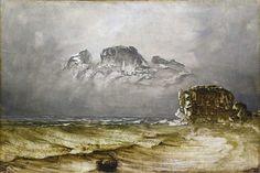 Peder Balke - Northern coastal landscapes