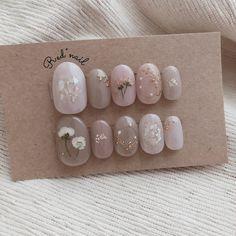 """Red """"nail nail design [No. Nail Art Cute, Nail Art Diy, Cute Nails, Korean Nail Art, Korean Nails, Asian Nail Art, Minimalist Nails, Nail Swag, Asian Nails"""