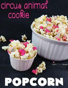 Circus Animal Cookies and Popcorn