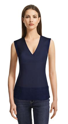 Blouse made to fit your unique measurements! Made to measure women clothes at Sumissura Suits For Women, Blouses For Women, Collar Blouse, Blouse Online, Black Blouse, Sleeveless Blouse, Shirt Dress, Womens Fashion, Casual