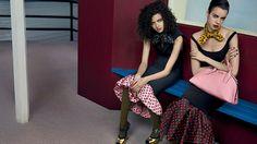 Miu Miu Fall 2013 Campaign Enlists Adriana Lima, Daphne Groeneveld, Georgia May Jagger and More