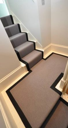 29 Ideas for design home architecture stairways House Stairs, Carpet Stairs, Victorian Hallway, Hallway Flooring, Hallway Inspiration, Hallway Designs, Hallway Ideas, Stair Makeover, Stair Landing