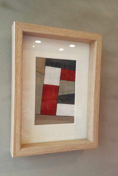 Framed Fabric, Fabric Art, Creative Textiles, Fun Projects, Sewing Projects, Textile Art, Fiber Art, Needlework, Contemporary Art