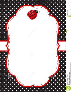 Ladybug Invitations Template Free Awesome Ladybug Invitation Template Stock Vector Illustration Of Little Girl Cartoon, Red Classroom, Ladybug Invitations, Printable Invitation Templates, Ladybug Party, Polka Dot Background, Scripture Cards, Scrapbook Embellishments, Birthday Greetings