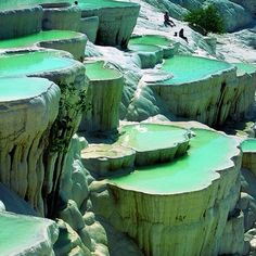 Rock pools, Turkey places