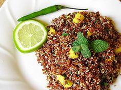 Red Quinoa Salad #vegan