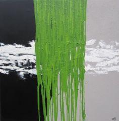Flowing, Green
