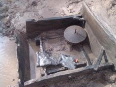 Roman timber-lined brine well, with quern and lead sheet, Middlewich 2012
