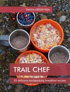A series of cookbooks from Trail Chef that provide simple and delicious meal recipes for hiking, camping and backpacking trips. Camping Ideas, Outdoor Camping, Camping Recipes, Camping Hacks, Camping Cooking, Camping Stuff, Camping Essentials, Outdoor Food, Dehydrated Backpacking Meals