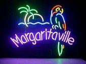 Margaritaville Parrot CORONA EXTRA Neon Light Sign from Amazon. $131.99  #neonlights #neonlightsigns #barneonlights #mancavelighting