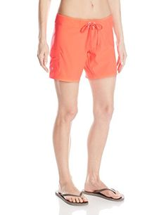 Billabong Womens Ride Solo 7 Inch Board Short Coral Reef 3 ** You can get additional details at the image link.