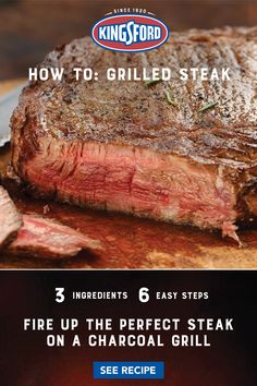 Grilling Tips, Grilling Recipes, Meat Recipes, Crockpot Recipes, Cooking Recipes, Smoker Recipes, Chicken Recipes, Ribs On Grill, How To Grill Steak