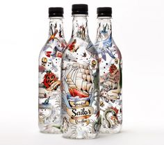 A good old sailor vodka
