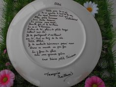 Le poème personnalisé, pour Chloé.