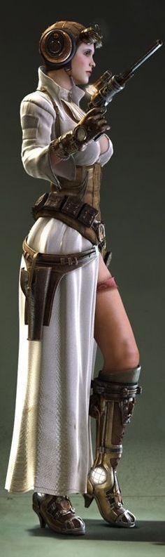 Steampunk Leia ... Star Wars in a Neo-Victorian Galaxy Far, Far Away