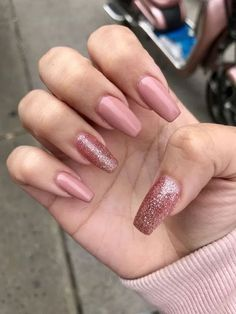 Best nail designs 2019 - Hair and Beauty eye makeup Ideas To Try - Nail Art Design Ideas Trendy Nails, Cute Nails, Coffin Nails, Acrylic Nails, Nail Art Designs, Two Tone Nails, Disney Nails, Summer Nails, Fall Nails