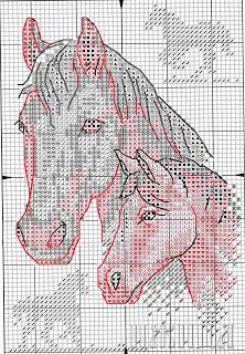 Mare and Colt Picture . Cross Stitch Bookmarks, Cross Stitch Alphabet, Cross Stitch Charts, Cross Stitch Patterns, Cross Stitch Horse, Cross Stitch Animals, Beaded Animals, Crochet Animals, Cross Stitching