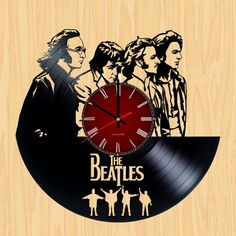 The Beatles Handmade Vinyl Record Wall Clock Fan Gift - VINYL CLOCKS